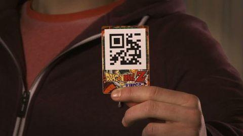 Dragon Ball Z Kinect : QR Code trailer