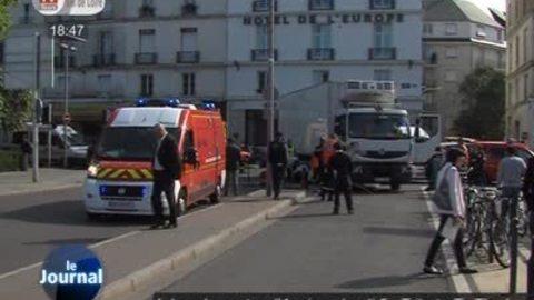 Dramatique accident devant la gare de Tours
