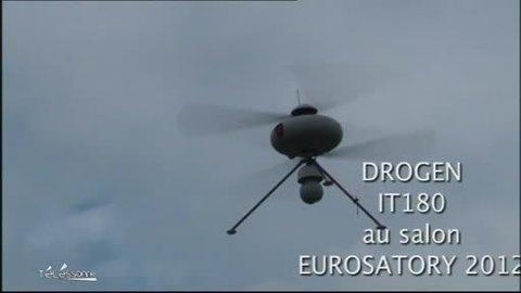 Des drones de l'armée made in Essonne