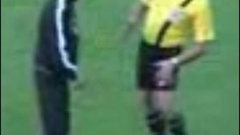 Drunk referee arbitre ivre