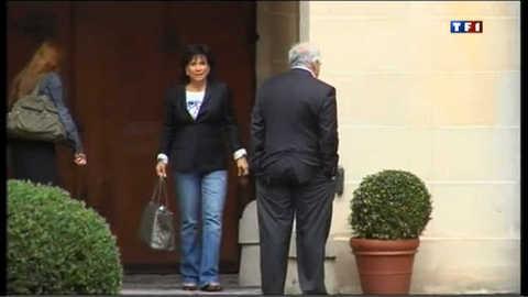 DSK et Anne Sinclair de retour à Paris