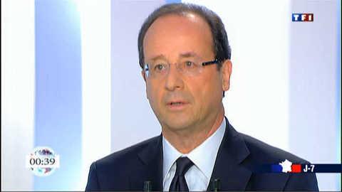 """""""DSK n'est plus dans la vie politique"""", affirme Hollande"""