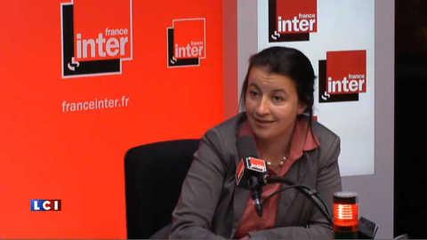 """Duflot ironise sur """"l'ultra-personnalisation"""" autour de Mélenchon"""