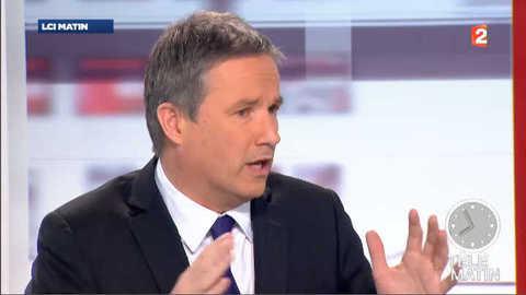 """Dupont-Aignan : """"Français, votez avec votre cœur, votre raison"""""""