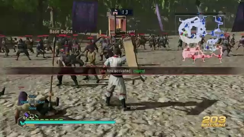 Dynasty Warriors 8 Empires - Dragon Column Gameplay - PS4 Xbox One PS3