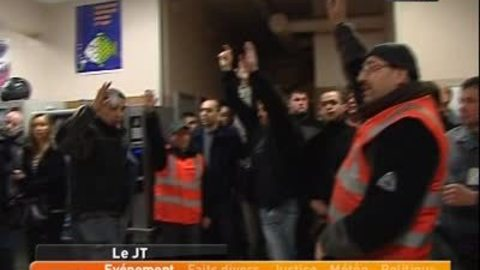 Les éboueurs votent la grève (Lyon)