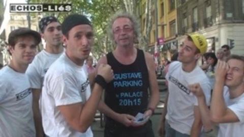 Les Echos liés avec leur fan Gustave Parking