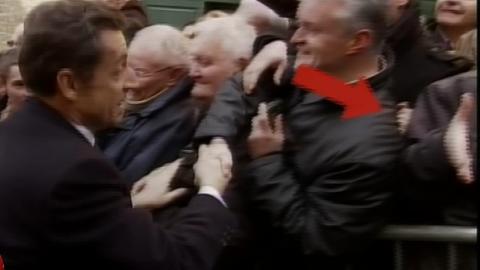 Elle met un vent à Sarkozy au Puy-en-Velay