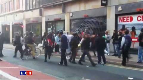 Emeutes en Angleterre : nuit de violences à Manchester