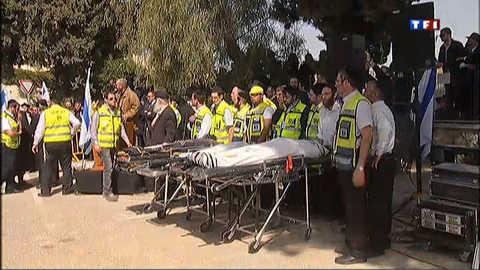 Emouvantes funérailles à Jérusalem des victimes de la tuerie de Toulouse