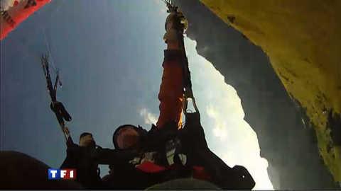 En Haute-Savoie, des leçons de parapente de haut vol