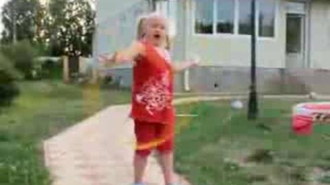enfant hula hoop