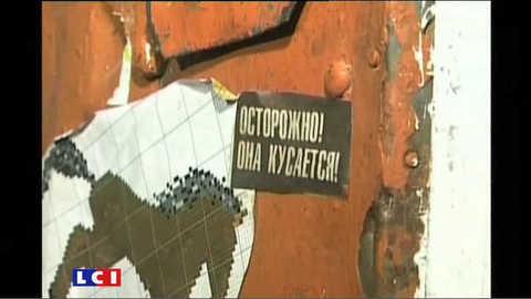 """Une """"enfant sauvage"""" dans une ville de Sibérie"""