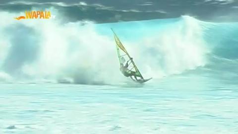 Enorme contest de windsurf à la Reunion