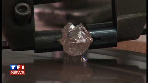 Un énorme diamant rose découvert en Australie