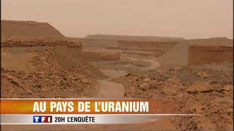 L'enquête du 20 h : Niger, au pays de l'uranium