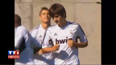 Enzo Zidane s'entraîne avec le Real : les premières images