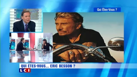 Eric Besson chante Johnny Hallyday