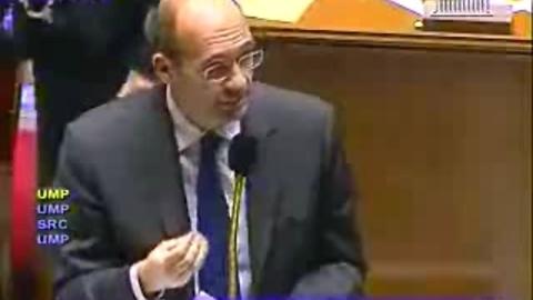 Eric Woerth répond à Jean-Claude Mathis