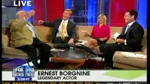 Ernest Borgnine révèle le secret de sa longévité