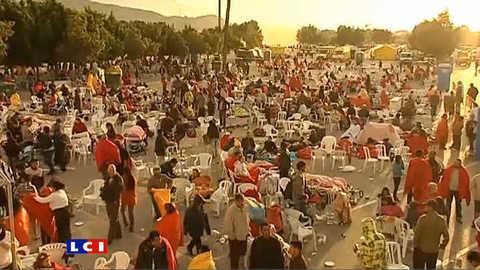 Espagne : des milliers de sans-abris à Lorca
