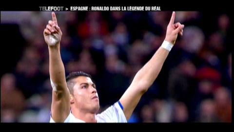 Espagne : le record de Cristiano Ronaldo (22/05/2011)