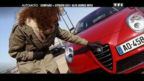 Essai Comparo : Citroen DS3 / Alfa Romeo Mito (06/03/2011)