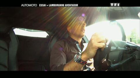 Essai : Lamborghini Aventador (08/05/2011)