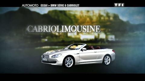 Essai Video : BMW Serie 6 Cabriolet (06/02/2011)