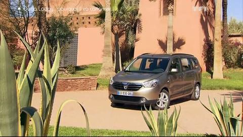 Essai vidéo : Dacia Lodgy, une familiale à moins de 10.000 euros ! (22/04/2012)