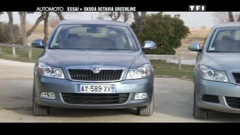 Essai Video : Skoda Octavia Greenline (30/01/2011)