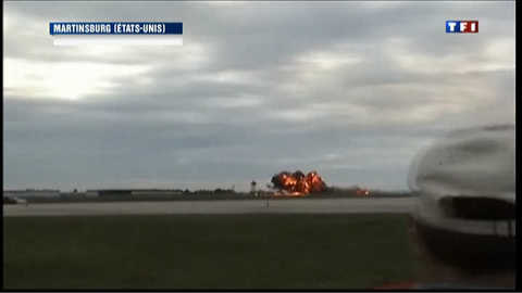 Etats-Unis: deuxième crash d'un avion lors d'un meeting