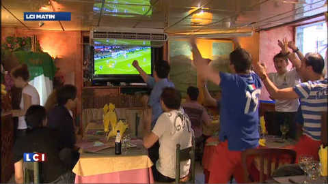 Euro 2012 : ambiance survoltée p