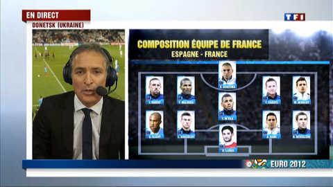 Euro-2012 :  les Bleus sans Diarra, Nasri, ni Ménez