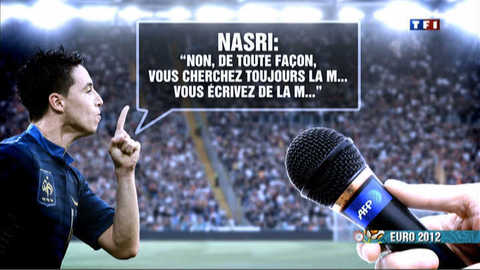 Euro 2012 : des joueurs aux comportements discutables