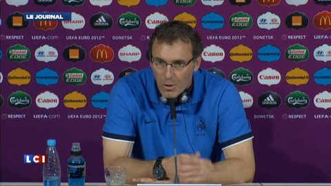 Euro 2012 : « lâchez-vous » dit Blanc aux Bleus