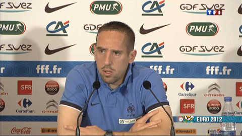 Euro 2012 : visite du camp des Bleus