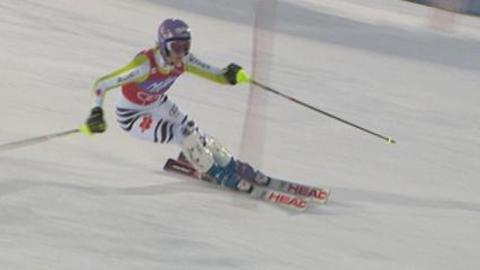 Eurosport - La 2nde manche de Riesch
