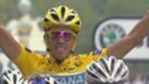 """Eurosport - Contador se dit """"victime"""""""