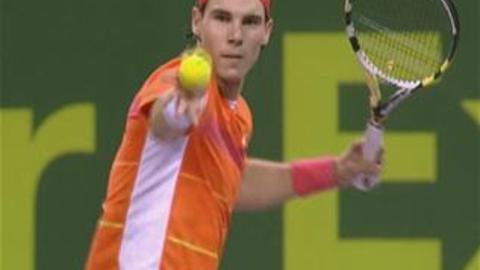 Eurosport - Doha : Federer et Nadal OK