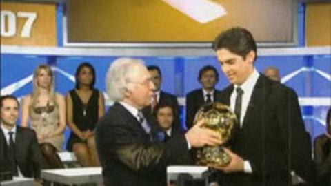 Eurosport - Football - Kaka et le Ballon d'Or