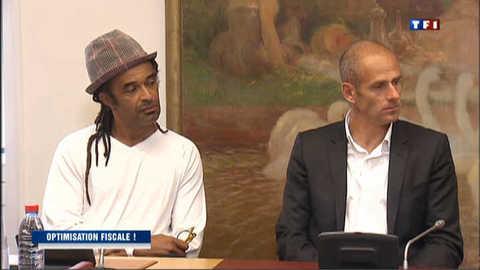 Evasion fiscale : audition de Yannick Noah et Guy Forget