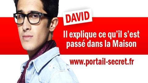 Exclu : David balance ce qu'il s'est vraiment passé dans la Maison des Secrets ! (Secret Story)