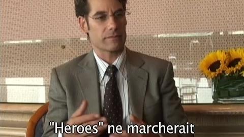 exclu Heroes : interview ( décalée ) Adrian Pasdar par Ron
