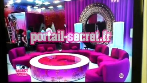 EXCLU : Voici l'intérieur de la Maison des Secrets