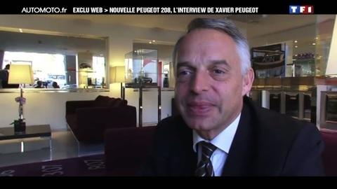 Exclu Web : Nouvelle Peugeot 208, l'interview de Xavier Peugeot
