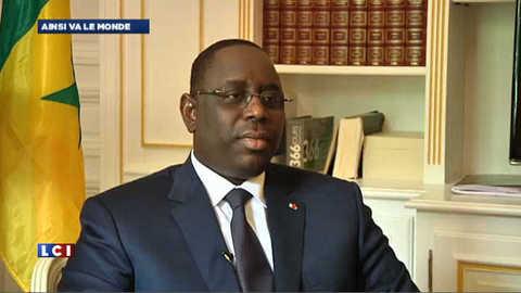 EXCLUSIF LCI – Interview de Macky Sall, président du Sénégal