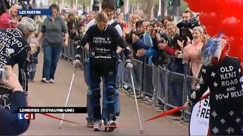 L'exploit de la joggeuse aux jambes bioniques