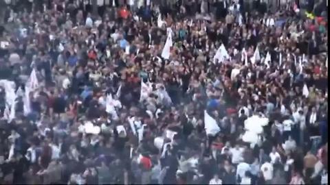 Explosion  spectaculaire en Arménie