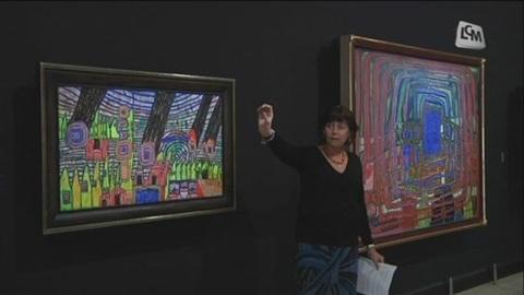 Expo Hundertwasser à la Vieille Charité (Marseille)